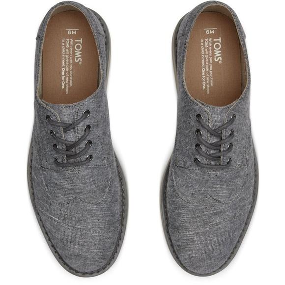 Toms Shoes | Toms Brogue Lace Up Canvas